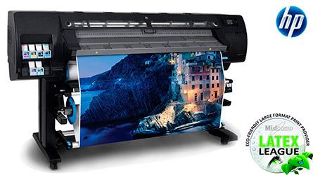 Широкоформатный латексный принтер для интерьерной латексной печати. Латексный принтер HP latex 260