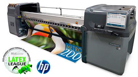 Широкоформатный латексный принтер для интерьерной латексной печати. Латексный принтер HP latex 600