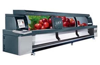 Широкоформатная печать шириной 5 метров. Промышленный широкоформатный принтер HP Scitex Xl Jet  5 м