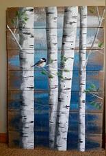Уф печать на дереве